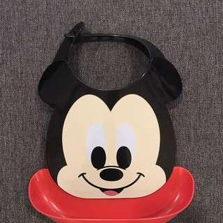 日本迪士尼米奇寶寶圍兜