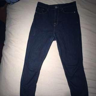 BDG High Wasted Dark Wash Jeans