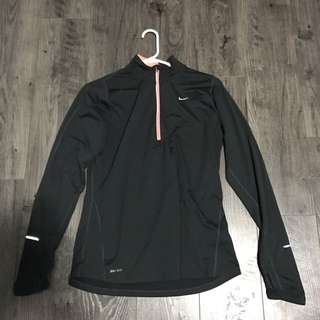 Nike Grey Work Out Sweater Top
