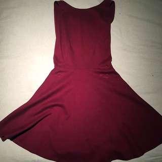 American Apparel Open Back/side Dress
