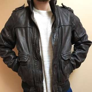 Men's Abercrombie Leather Jacket