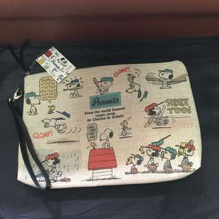 #Summer40 PEANUTS Vintage Clutch (from Tokyo)