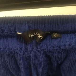 Blue Boob Tube Top