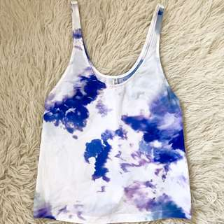 Bec And & Bridge Cloud Top / Singlet - Blue And White