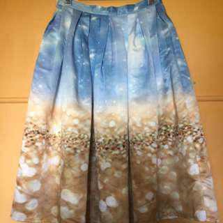 Photo Printed Skirt