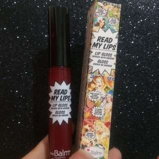 Read My Lips The Balm