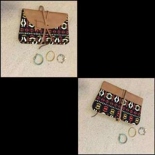 Imported Tribal Pouch
