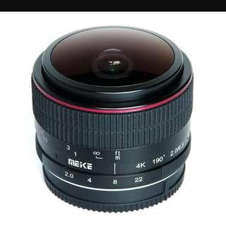 Meike 6.5mm F2 Lens for Sony E-Mount
