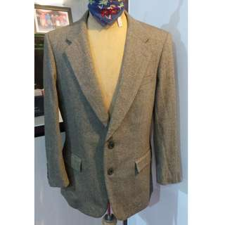 Vintage Lyle & Scott Blazer (Magee of Donegal Fabric) by Artsy Hut