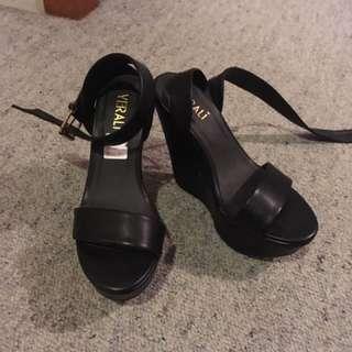 Black Verali Heels