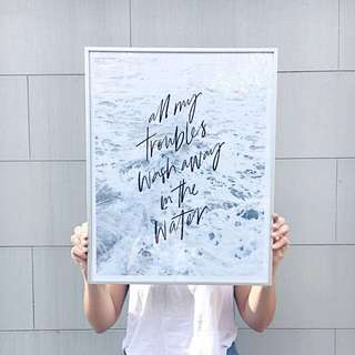 Summer Art Print - 50x70cm