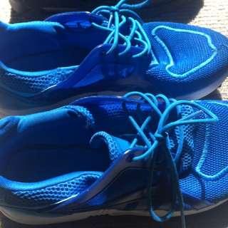 Blue Addidas Sport Shoes