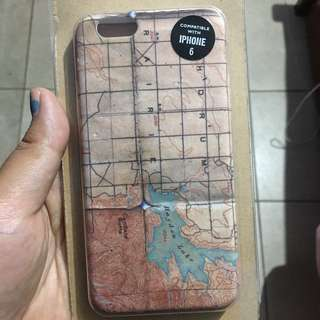Case Iphone 6/6s Maps Pink