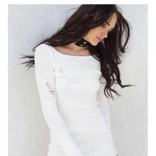 White Yeezy Dress