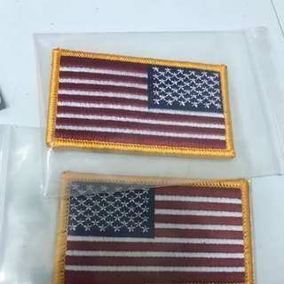 BNIP US Army Arm Velcro Flag ( One Pair )