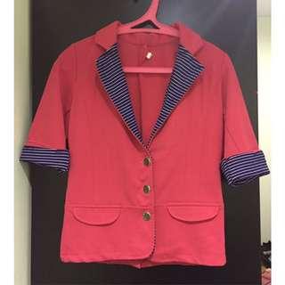 Formal Pink Blazer