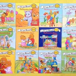 I Can Read Phonics Berenstain Bears 12 Books Set