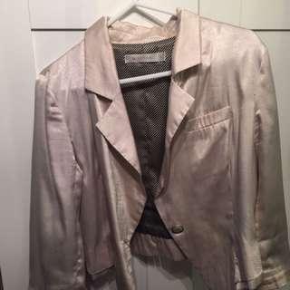 Mink Pink Cropped Jacket