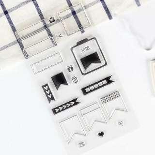 C134 Planner Clear Stamp Set 3