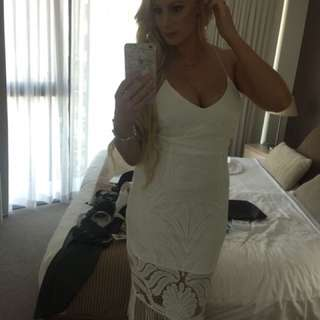 Size 10 White Khaleesi Dress