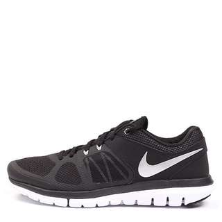 NIKE MEN's FLEX 2014 RN RUNNING SNEAKER SHOES 642791-008 Black Silver