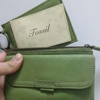 FOSSIL青綠小包