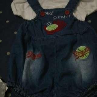Reprice(turun Harga) Jumpsuit+inner Bayi By Hipofant