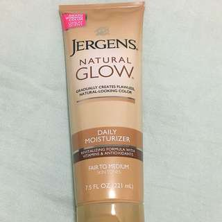 Jergens Natural Glow Daily Moisturiser- Fair To Medium Skin