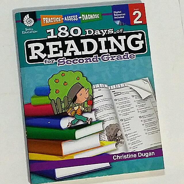 180days Reading Comprehension For Second Grade 1 Cd Rom Books