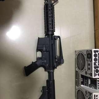 WE M4 CQB GBB 一槍四匣汽槍 80% New
