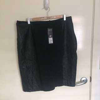 Brand New City Chic Plus size skirt - Size Small - RRP:$89.95