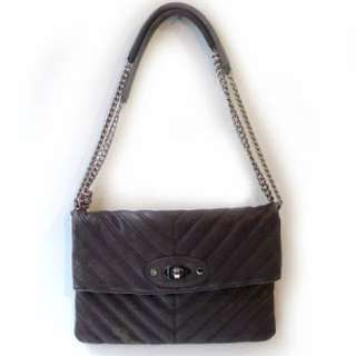Saba Black Shoulder Bag/clutch