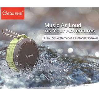V1 outdoor waterproof and shockproof 5W Bluetooth speaker