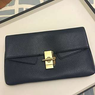 Bariano Navy Blue Clutch/side Bag