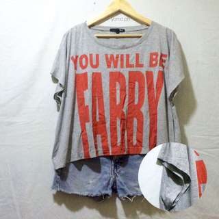 Fabby Batwing Top