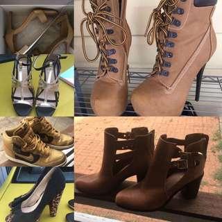 Heels/boots/hightop