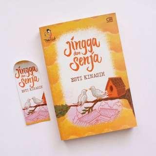 Novel Jingga Dan Senja