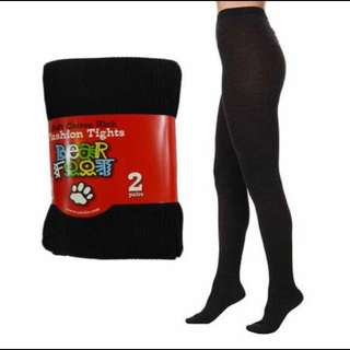 Brand New WOMEN BEAR FOOT 2PACK TIGHTS