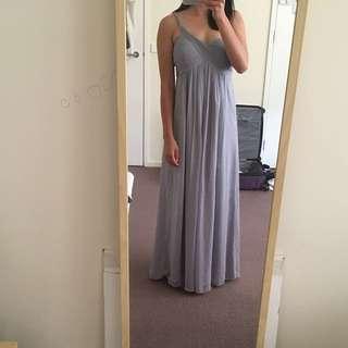 Chiffon Lilac maxi long formal dress
