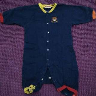 Sleep Suit Blue Navy
