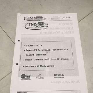 FTMS ACCA P1