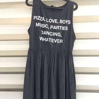 Forever 21 ( Gray Dress)