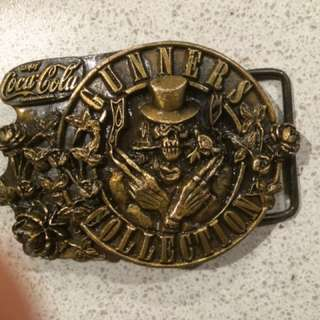 RARE Guns And Roses Belt Buckle
