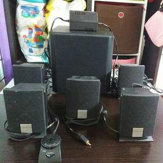 上門自取!減價!creative 5.1 5300 speakers