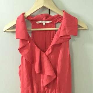 Rachel Roy Pinkish Red Dress