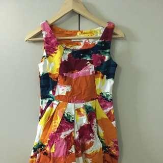 Colourful Skater Dress