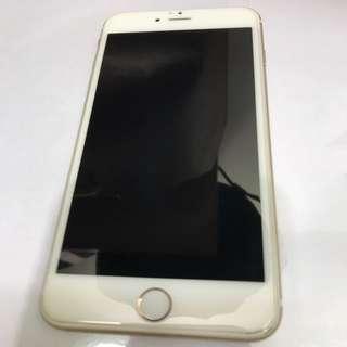 i Phone 6 plus 金色 64G