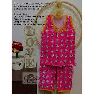 GIRLS TERNO Sando/Pajama