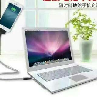 Lazy Pad Charge Android-silver Apple-black