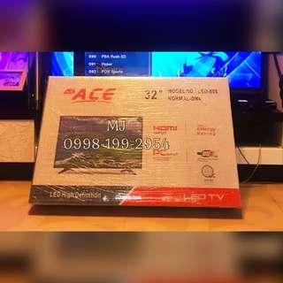 "ACE 32"" Slim LED HDTV Black!"